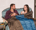 Coleman Hudson™ Double  Sleeping Bag, Camping Sleeping Bags - Grasshopper Leisure